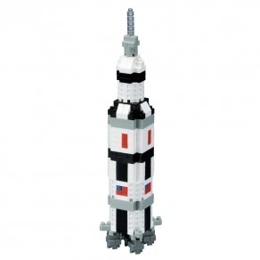 Sights series NANOBLOCK // Saturn V Rocket