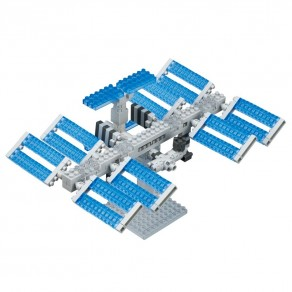 Sights series NANOBLOCK // Space Station