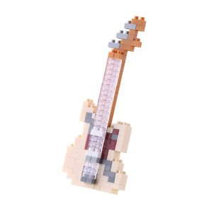 Mini series NANOBLOCK // Electric Guitar Ivory
