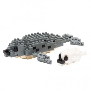 Mini series NANOBLOCK // Spotted Seal