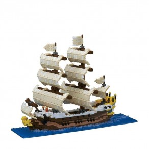 Advanced Hobby Series NANOBLOCK // Sailing Ship
