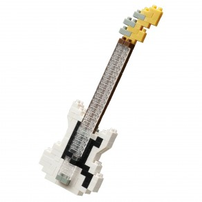 Mini series NANOBLOCK // Electric Bass White