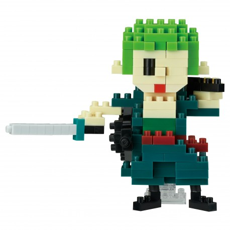 Zoro - One Piece x nanoblock