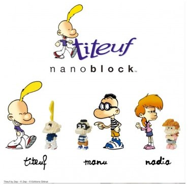 Titeuf x nanoblock